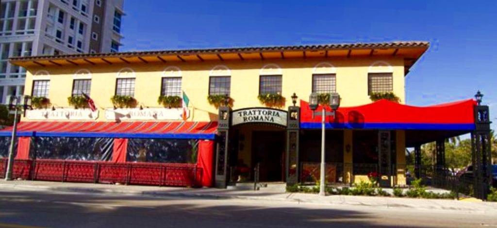 Trattoria Romana 33432 Restaurant 499 E Palmetto Park Rd
