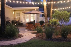 String party lights for patio