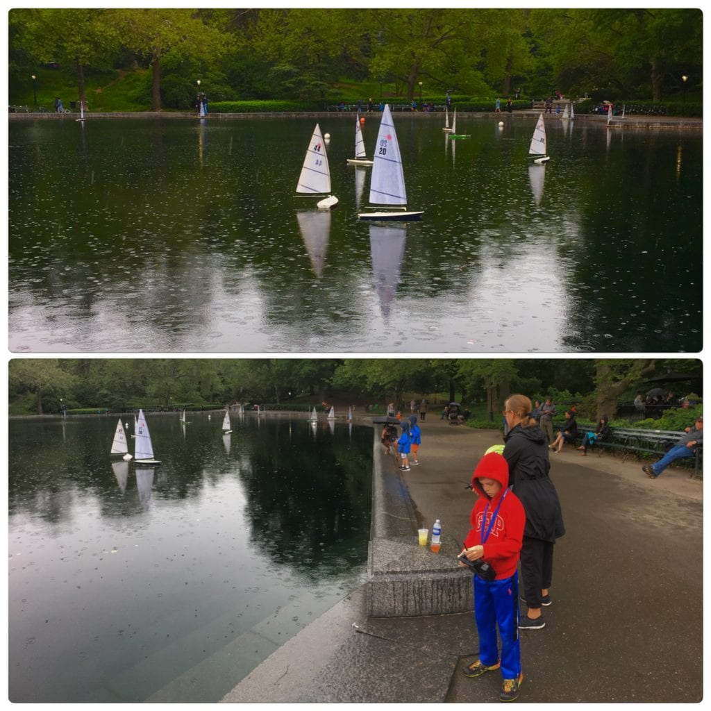Conservatory Water Central Park