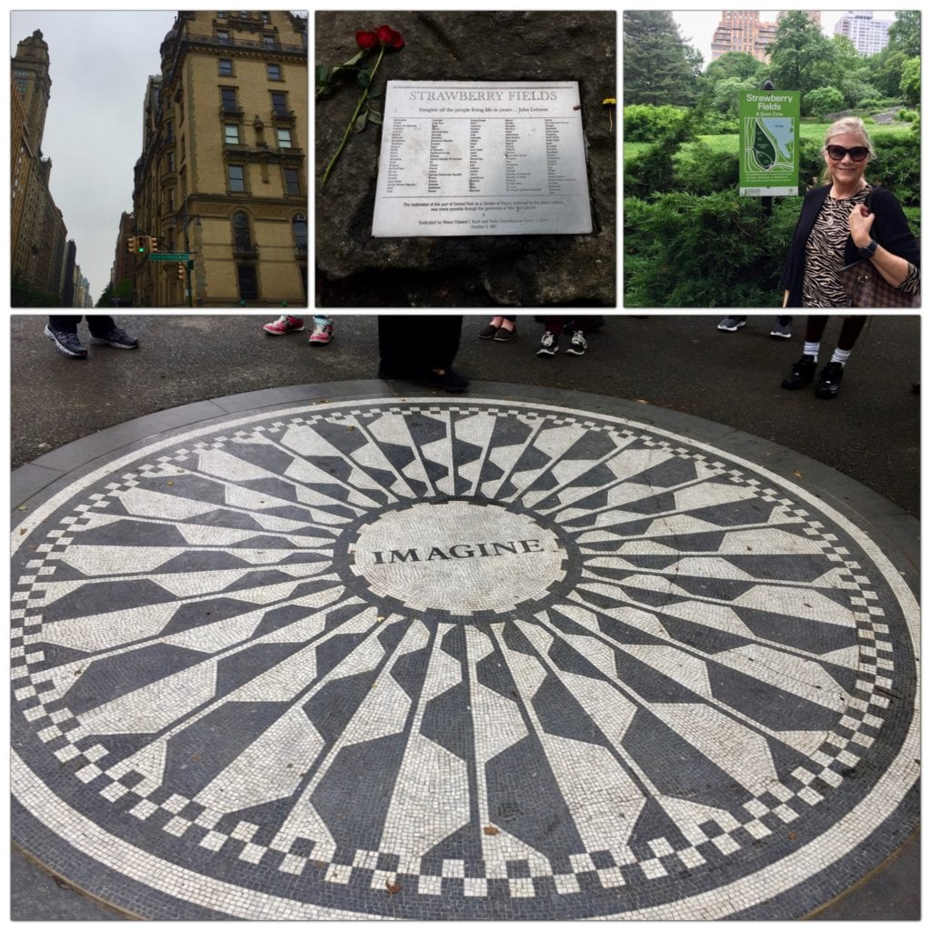 Strawberry Fields - Central Park NYC