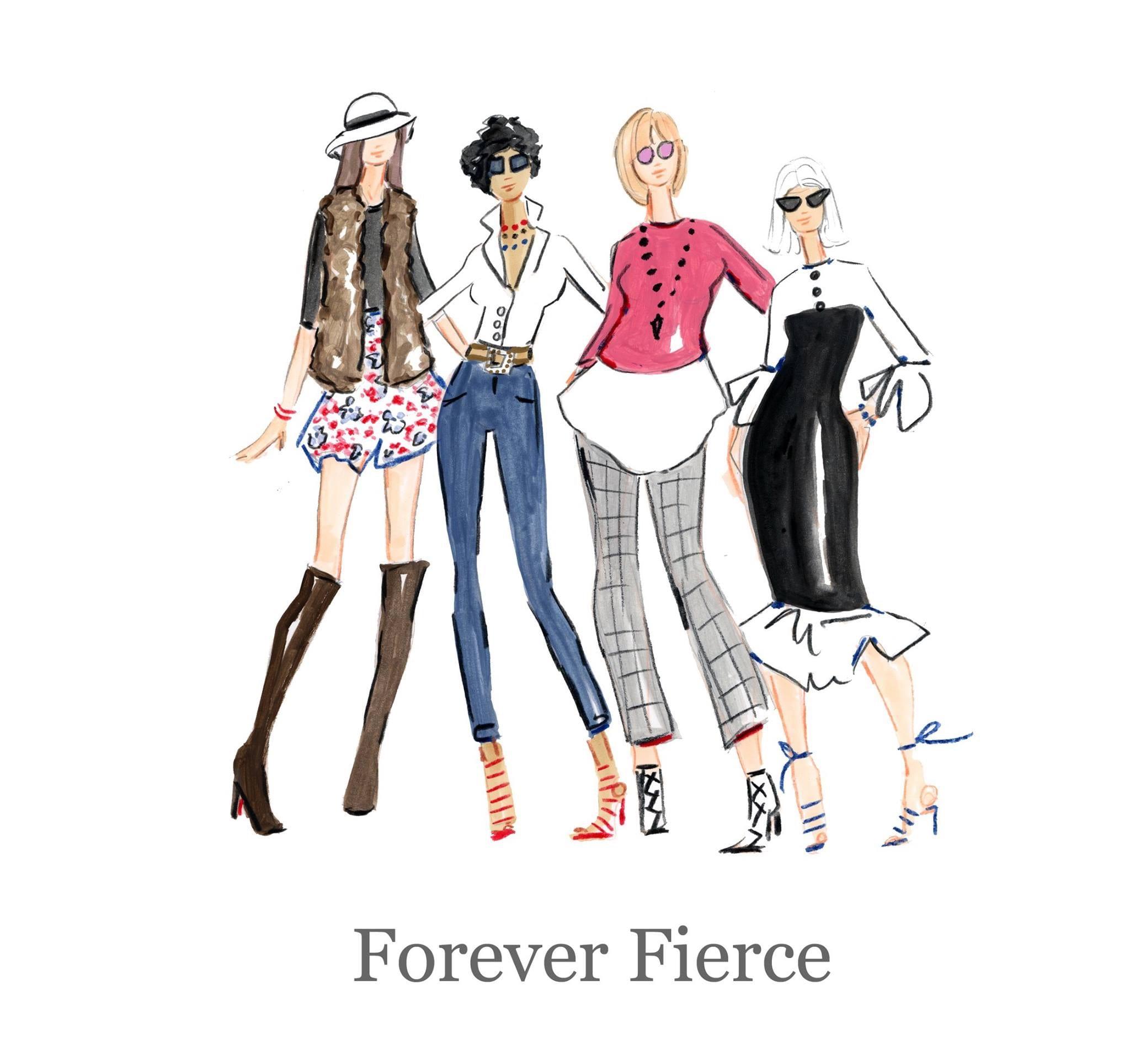 #foreverfierce