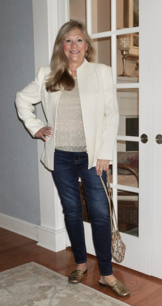 holiday outfit jeans