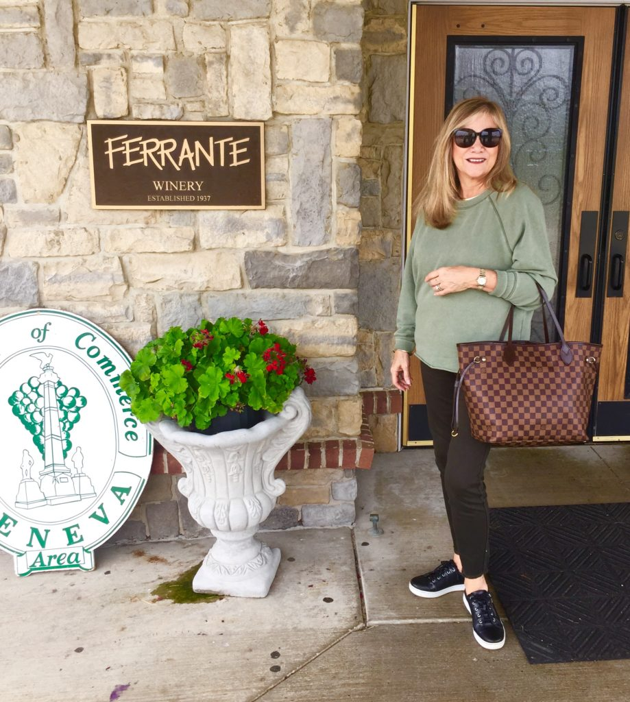Front entrance to the Ferrante Winery